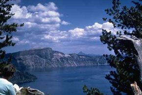 National Parks Image Gallery The startling blue waters of Crater Lake owe their color to the great depth of the crater. See more pictures of national parks.