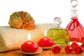 Candles, flowers and aromatherapy, oh my!