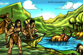 Many young-Earth creationists believe that humans and dinosaurs inhabited the Earth at the same time.
