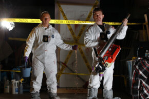 David and Christian Cadieux run Toronto Crime Scene Cleanup, a company specializing in biological and chemical clean-up in Toronto.