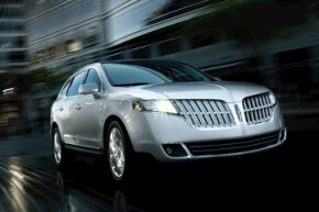 Lincoln's new crossover vehicle -- the 2011 Lincoln MKT.