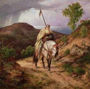 The returning crusader