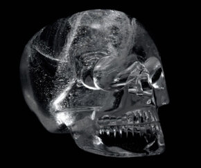 Crystal skull from the British museum.