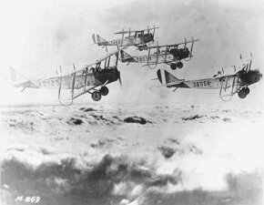 """The United States played an important but limited role in World War I, and the Curtiss JN-4 """"Jenny"""" became the only mass-produced American plane to play a major part in the conflict."""