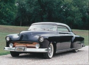 The sharp La Jolla was not only famed stylist Harry Bradley's first custom, it was his first car. See more custom car pictures.