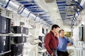 Though the physical layouts vary, every data center has server clusters.