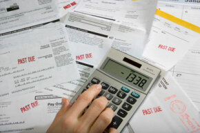 If you struggle to pay bills, you might consider debt consolidation. See more debt pictures.