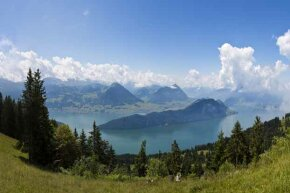 Despite its small physical size, Switzerland manages more financial assets than any other country.