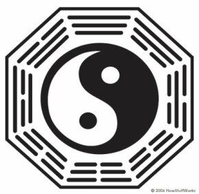 A bagua, the source of the DHARMA logo