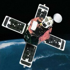 An artist's rendering of the TRACE satellite, which learned new dance steps for its slewing procedure thanks to DIDO.