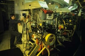 Image Gallery: Diesel Engines Despite being more efficient, diesel Engines are more expensive and produce more smoke than gasoline engines. See more diesel engine pictures.