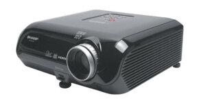A DLP projector