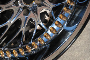 Image Gallery: Brakes Can brake dust covers really keep your shiny wheels from turning shabby? See pictures of brakes.
