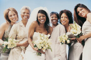 There's nothing wrong with asking women in their 30s or older to be bridesmaids -- just know that they may not get crazy and party the night away with you.
