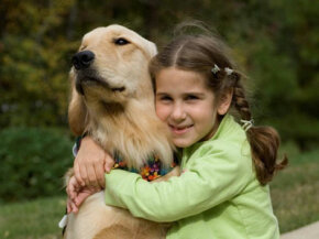 Rachel Walz and her seizure response dog Cappi
