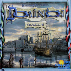 Although most can't be played without the original set, fans will find Dominion's expansions -- like Seaside -- well worth the investment for the extra options they provide.
