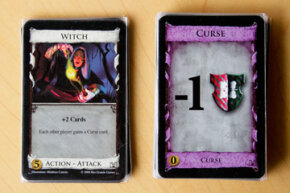 When Action-Attack cards like the Witch come into play, strategy gets a bit more complicated.
