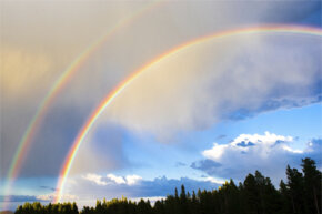 Double rainbows are pretty great, but they're not as rare as you might think.