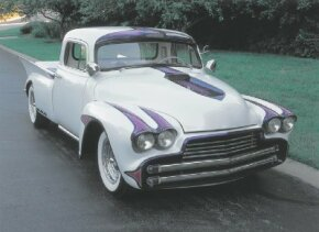 The Dream Truck was the collaborative vision of a group of custom designers, built on a 1950 Chevy pickup. See more custom car pictures.
