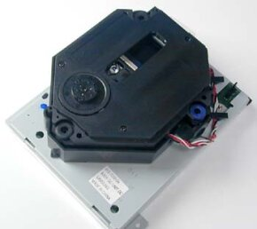 The Dreamcast has a drive similar to other CD-ROM drives, but the optical disc is proprietary.