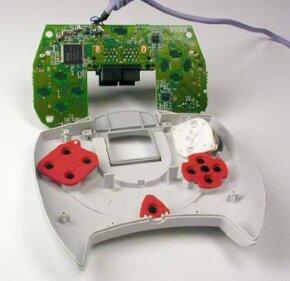 Inside a Dreamcast controller