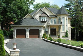 A well-maintained asphalt driveway makes a great impression.