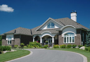 An attractive concrete driveway adds curb appeal to your home.