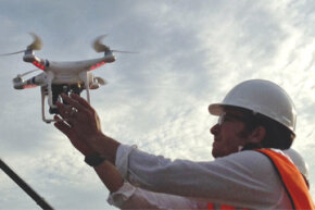 Drone use in construction cuts costs and makes certain tasks much easier.