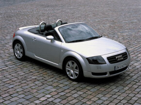 Audi TT Roadster, one of several Audi models available with a dual-shift transmission