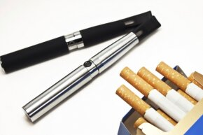 Smokers may make the switch to e-cigarettes in the hopes of saving cash.