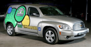 A E85 powered 2009 Chevrolet HHR. See pictures of alternative fuel vehicles.­
