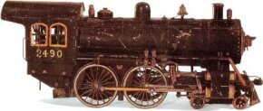 Adults, like children, can be easily captivated by steam locomotives. It comes as no surprise that some individuals built working live-steam models of engines, such as this one, as far back as 1910.