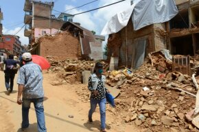 Nepal was hit hard by earthquake activity in the first half of 2015.