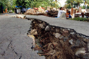 Along with tearing roads asunder and otherwise destroying lives and homes, powerful earthquakes can change the length of the day. How crazy is that?