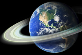 Earth may have had rings billions of years ago.