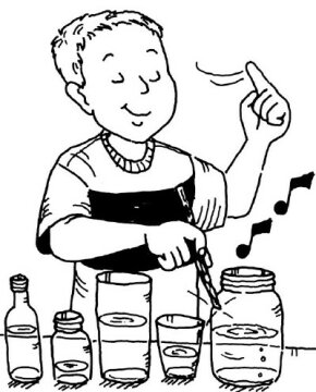 Liquid Melodies is a terrific easy water activity for kids.