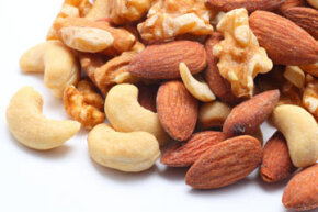 Basic food staples like nuts will provide a healthy dose of both protein and fat a few hours before a run.