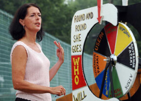 Lois Gibbs spoke at the 25th anniversary commemoration of Love Canal.