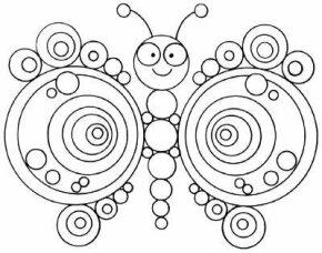 Brain Teaser Art uses similar shapes to trick the eye.