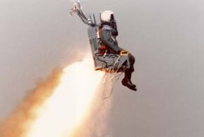 Ejecting from an aircraft is rare, but pilots sometimes have to resort to pulling the ejection handle to save their lives.