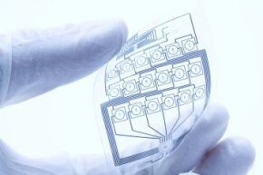 Flexible, stretchable electronics have the potential to help us communicate health information.