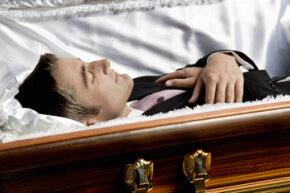 Embalming is the practice of getting a person's body ready to be buried.