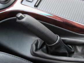 Image Gallery: Car Safety This one little lever can mean the difference between a car staying put or rolling into the house down the hill. See more car safety pictures.