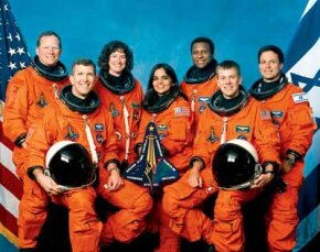 All seven of the crew of the Space Shuttle Columbia perished in the tragic loss of the Columbia on February 1, 2003.