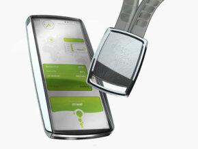 The Nokia Eco Sensor Concept and wrist sensor unit