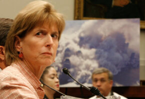 Former EPA Administrator Christie Todd Whitman testified at the House Judiciary Committee's inquest into the Sept. 11 terrorist attacks.