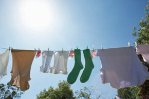 How much power do you actually use? If you love the smell of line-dried clothing, your power bill might not be so bad.