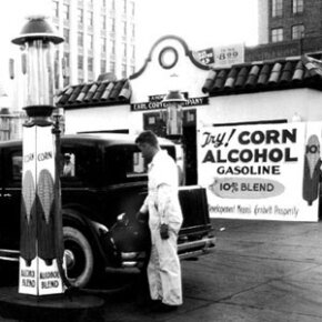 Ethanol fuel isn't a modern invention; some folks have been fueling with corn for decades.