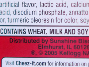 If you have allergies, check the label.