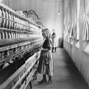 The U.S. Fair Labor Standards Act of 1938 attempted to reform the widespread practice of child labor in mills, factories and elsewhere.